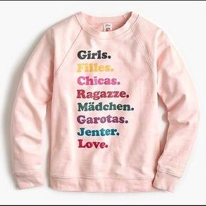 JCrew/Girls Inc Sweatshirt